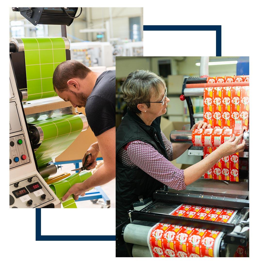 Impression d'étiquettes et solutions de traçabilité