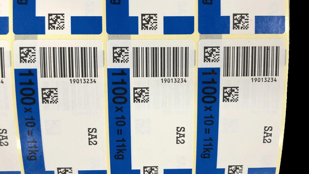 Etiquettes QR codes