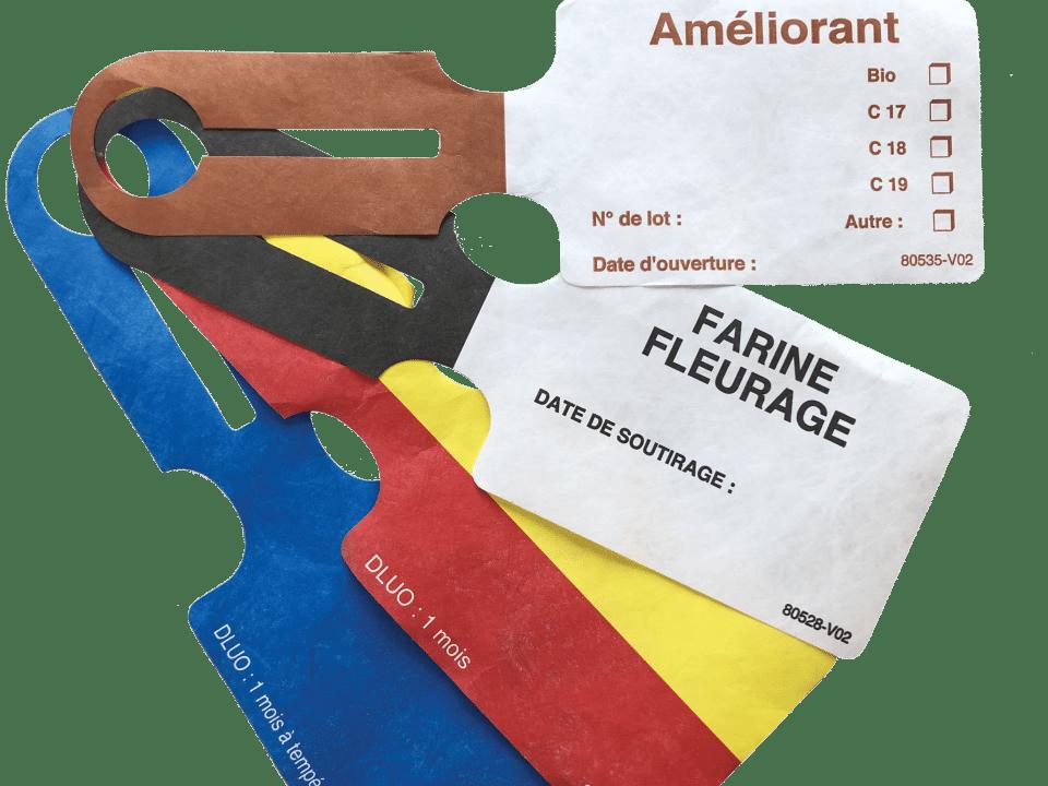 Etiquettes boucles agroalimentaire