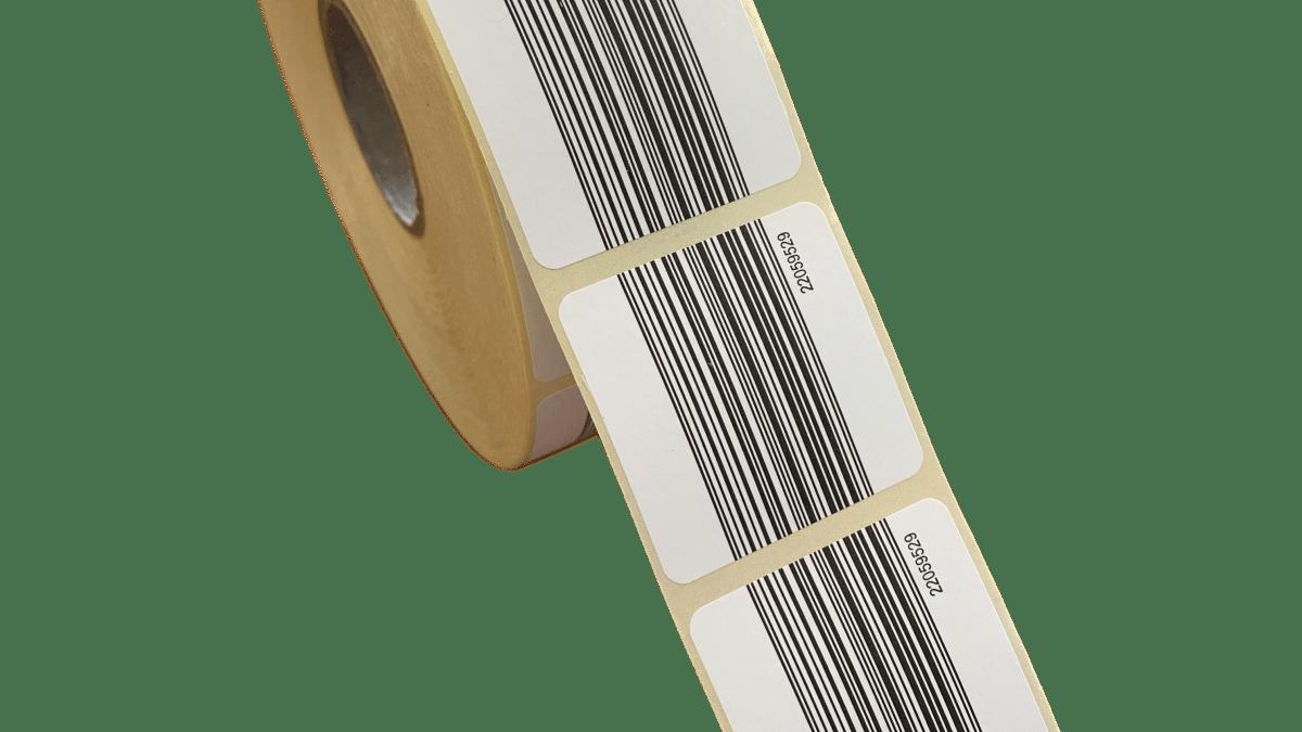 Etiquettes code-barre simple