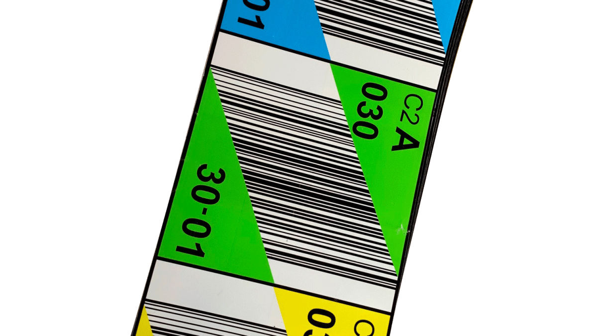 Etiquettes codes-barres RFID