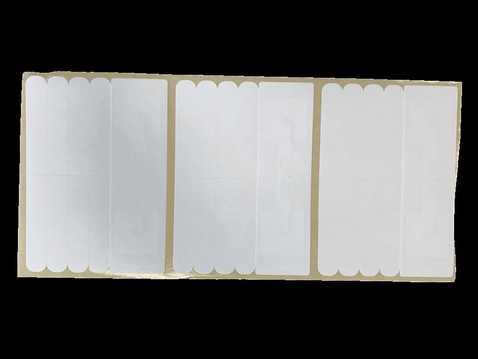 Etiquettes vierges prédécoupe RFID