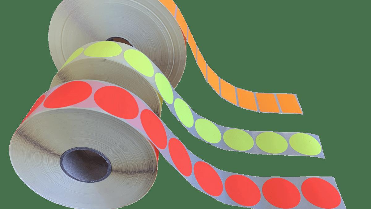 Pastilles fluo identification