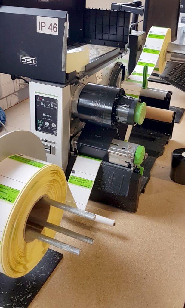 machine repiquage